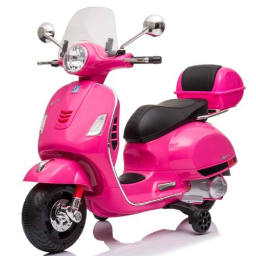 Vespa kinderscooter Vespa GTS-S Roze 12V Kinderscooter Roze