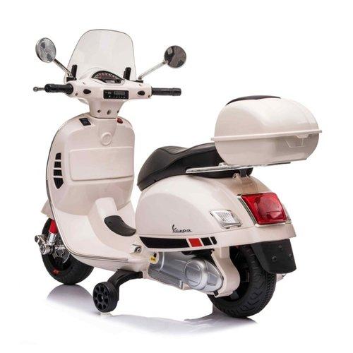 Vespa kinderscooter Vespa GTS-S Roze 12V Kinderscooter Wit