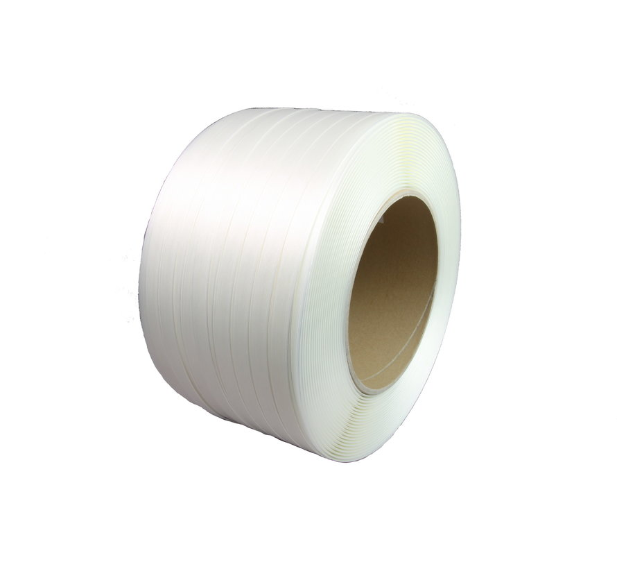 Polyester Fadenstrukturband 16 mm x 600 lfm