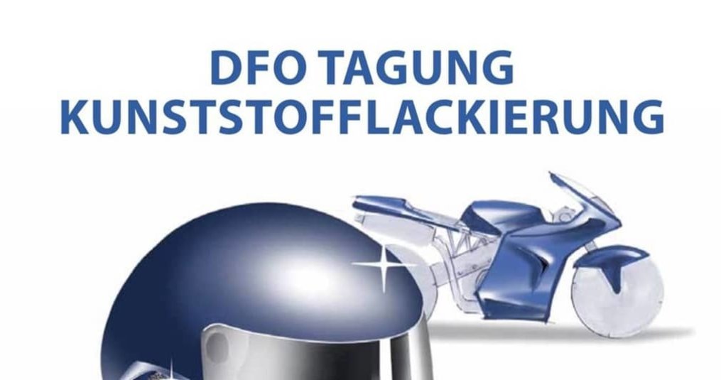 DFO TAGUNG KUNSTSTOFFLACKIERUNG