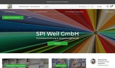 Neue SPI Webseite inkl. Webshop online