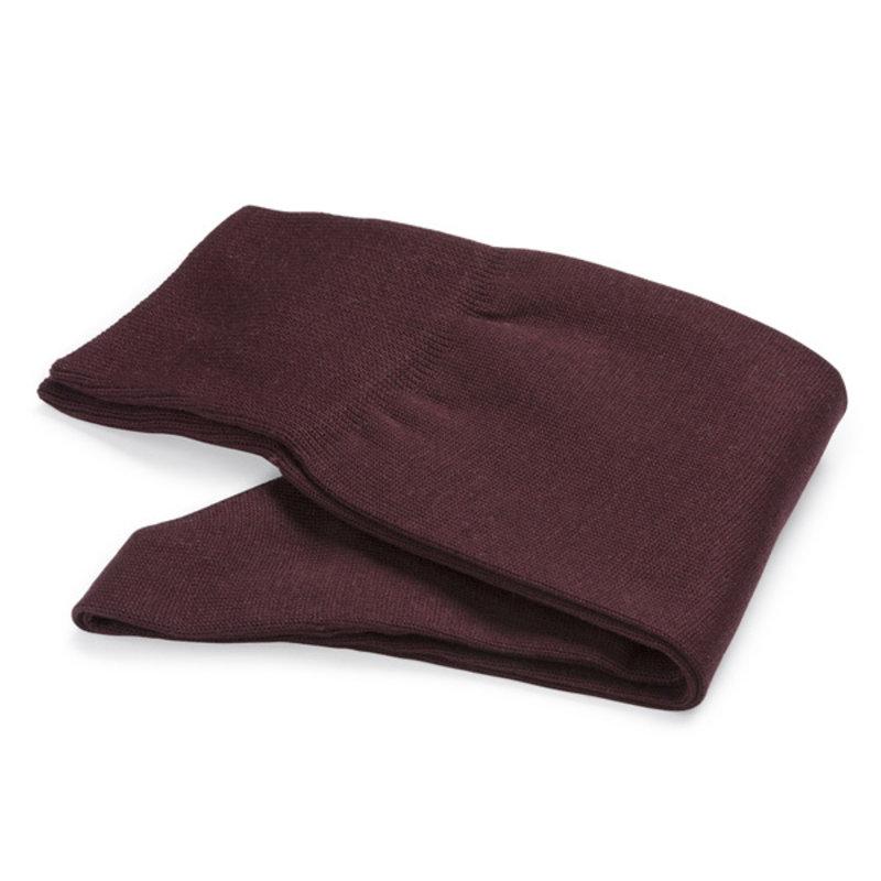 Bordeauxrode katoenen sokken | Carlo Lanza