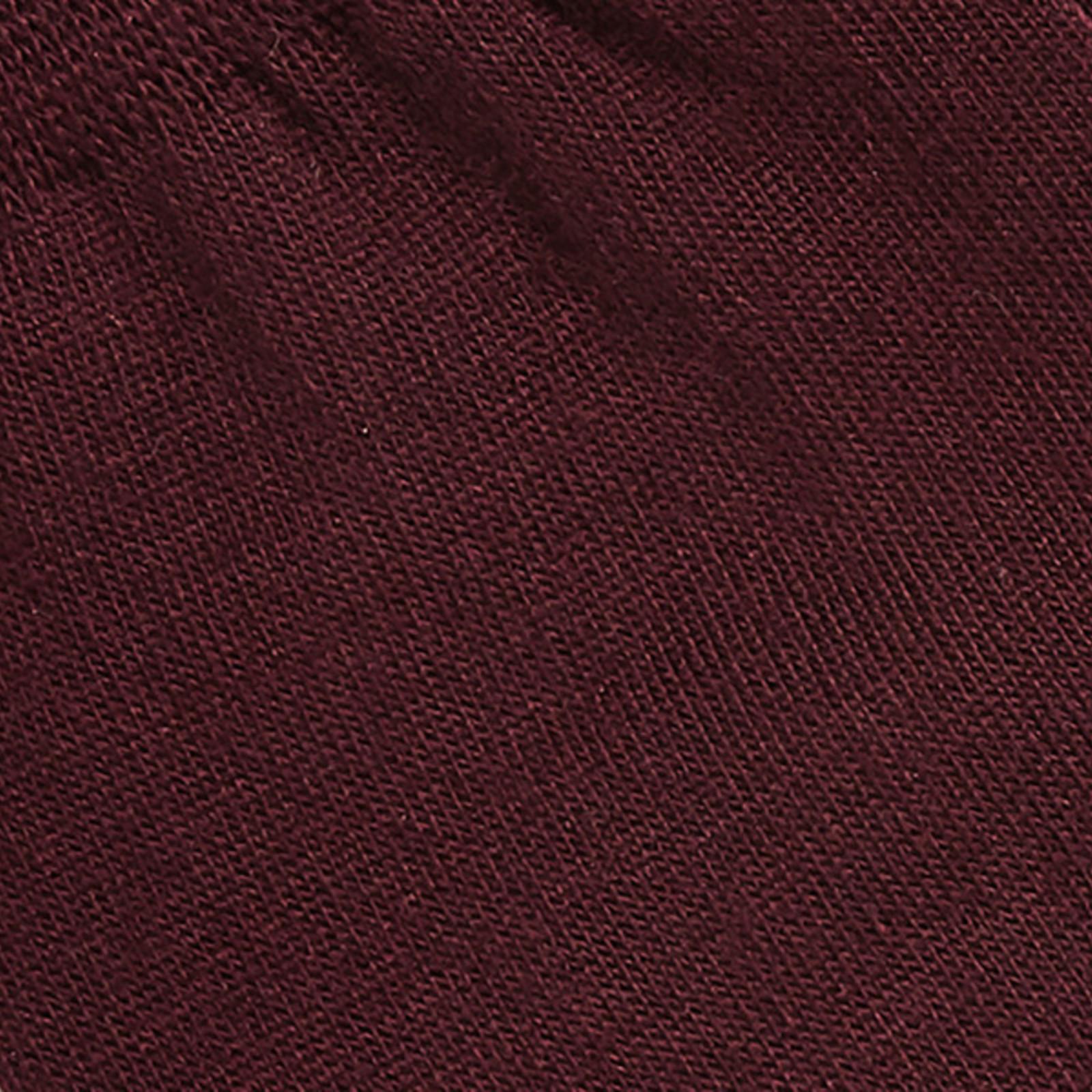 Carlo Lanza Bordeauxroten Socken Baumwolle