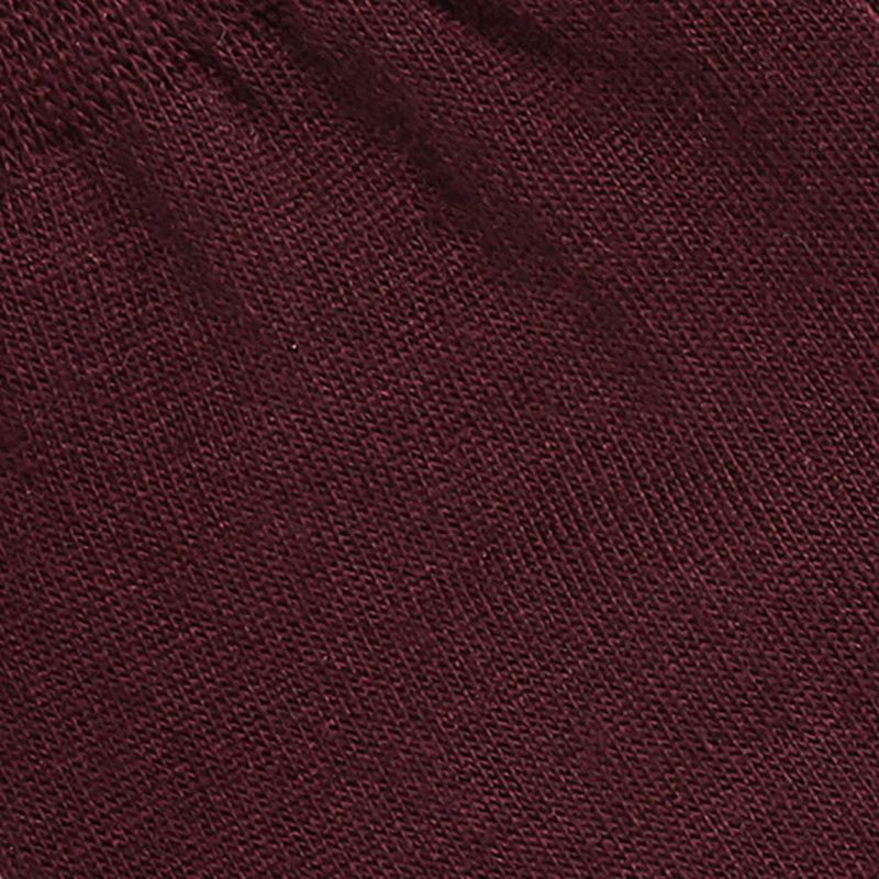 Bordeauxroten Socken Baumwolle