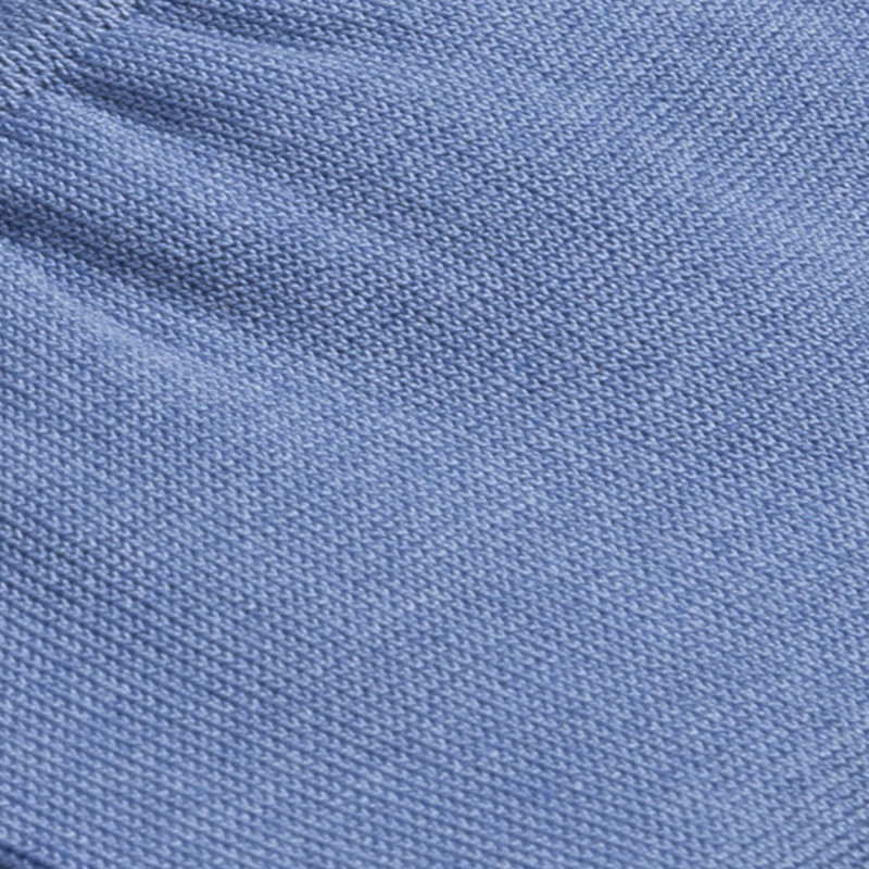 Lichtblauwe katoenen sokken   Carlo Lanza
