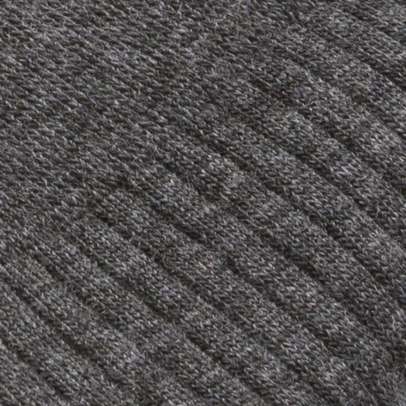 Graue Merino Wolle Socken Socken