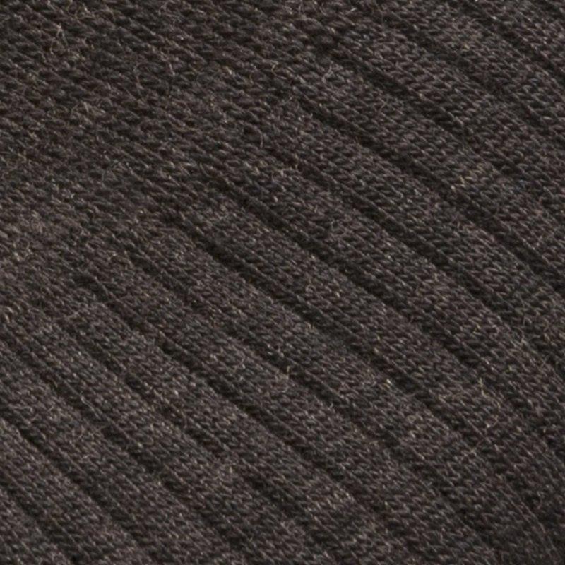 Dunkelbraune Merino Wolle Socken