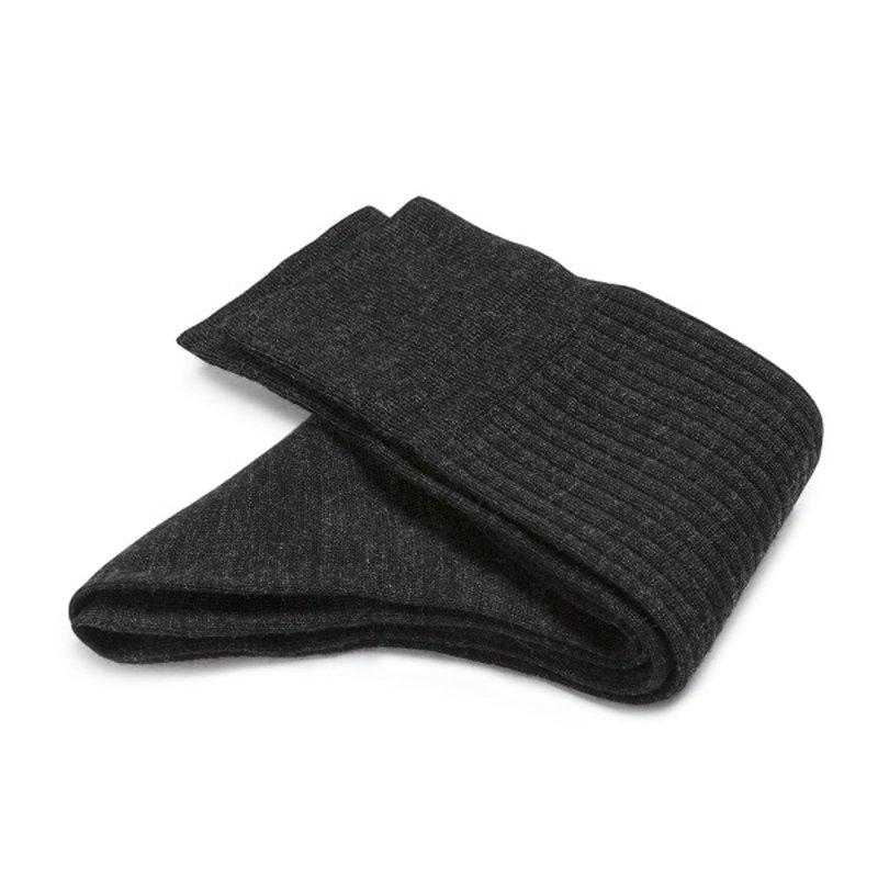 Darkgrey wool socks