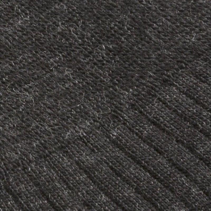 Anthrazitfarbenen Merino Wolle Socken