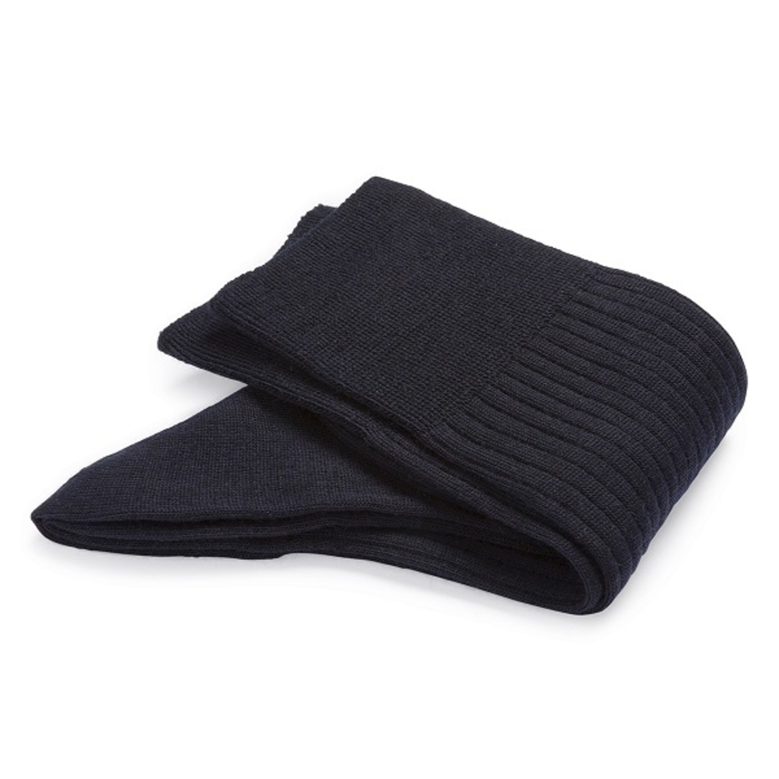 Carlo Lanza Dark blue wool socks