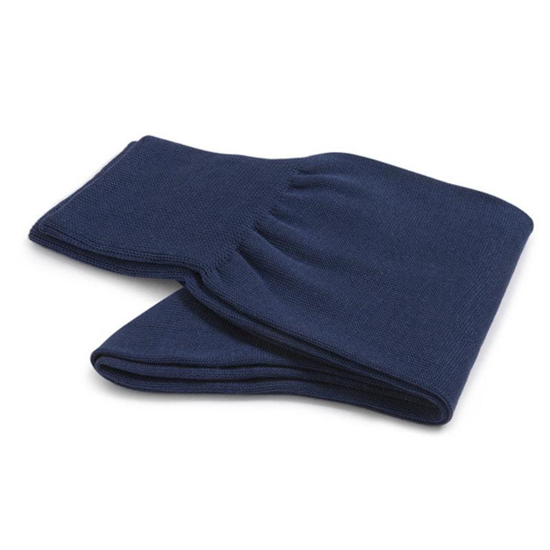 Royal blue cotton socks