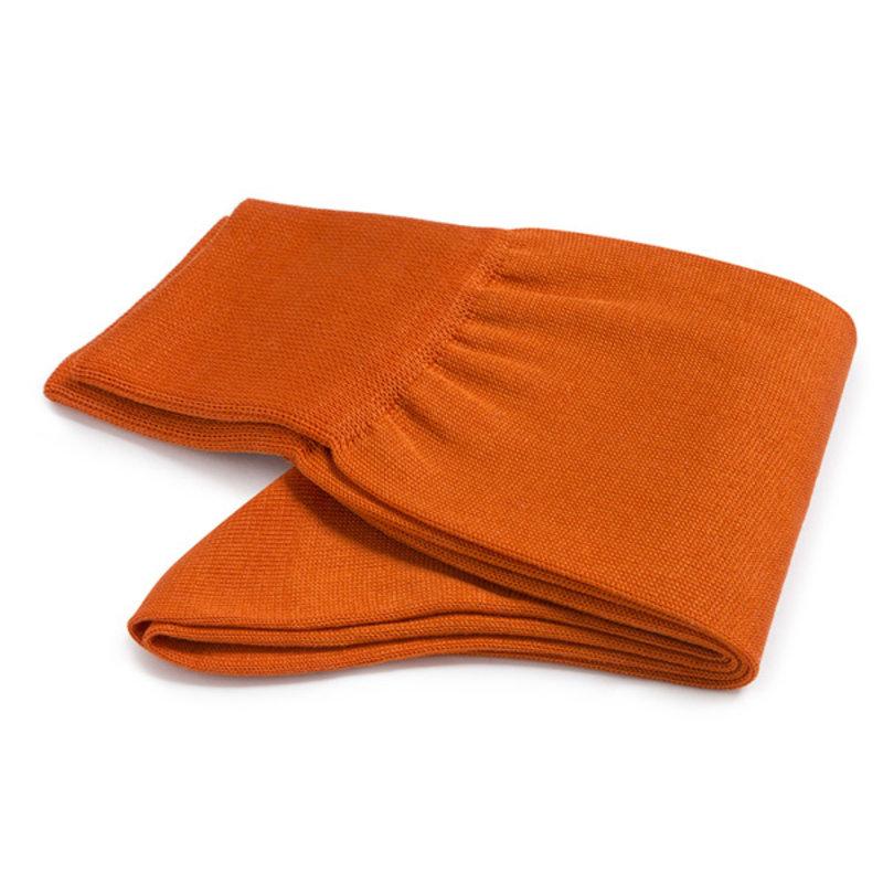 Orangenfarbenen Socken Baumwolle