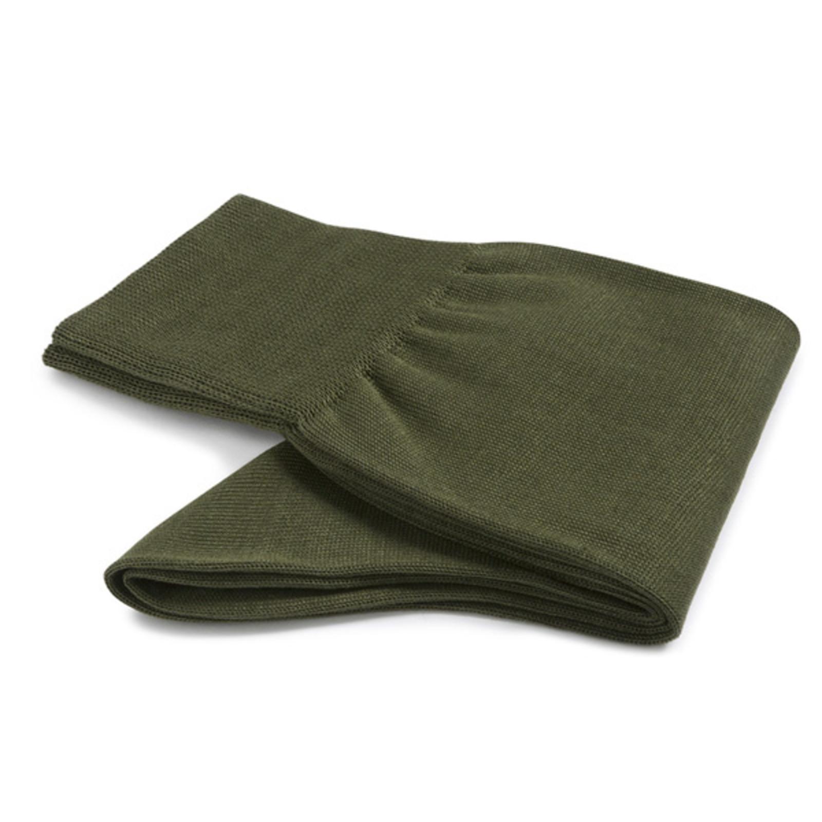 Carlo Lanza Olivgrünen Socken Baumwolle