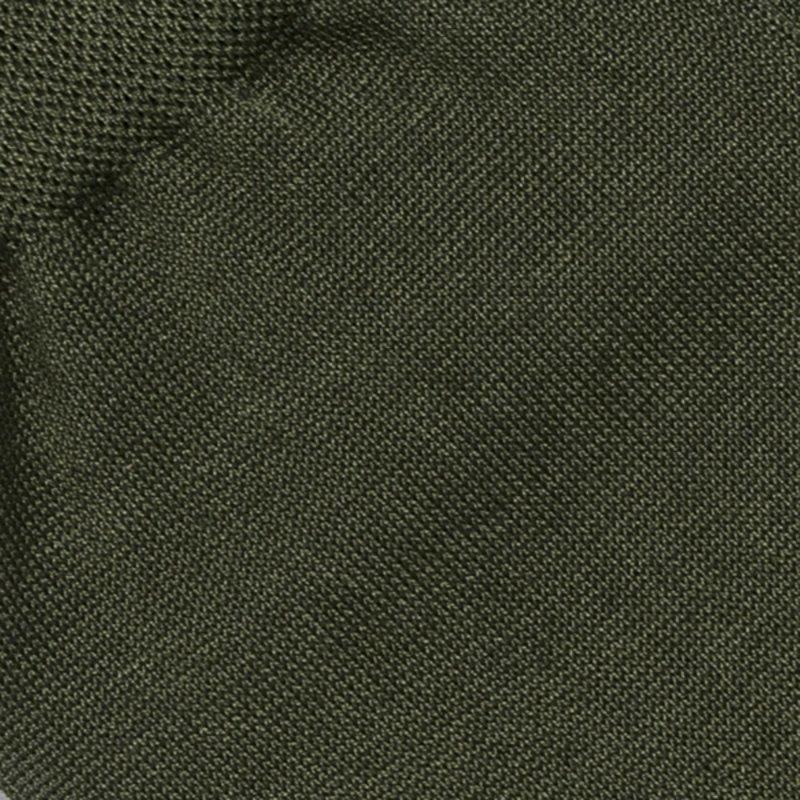 Olive cotton socks