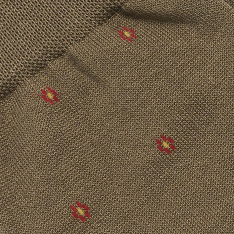 Sandfarbenen Strümpfe Baumwolle