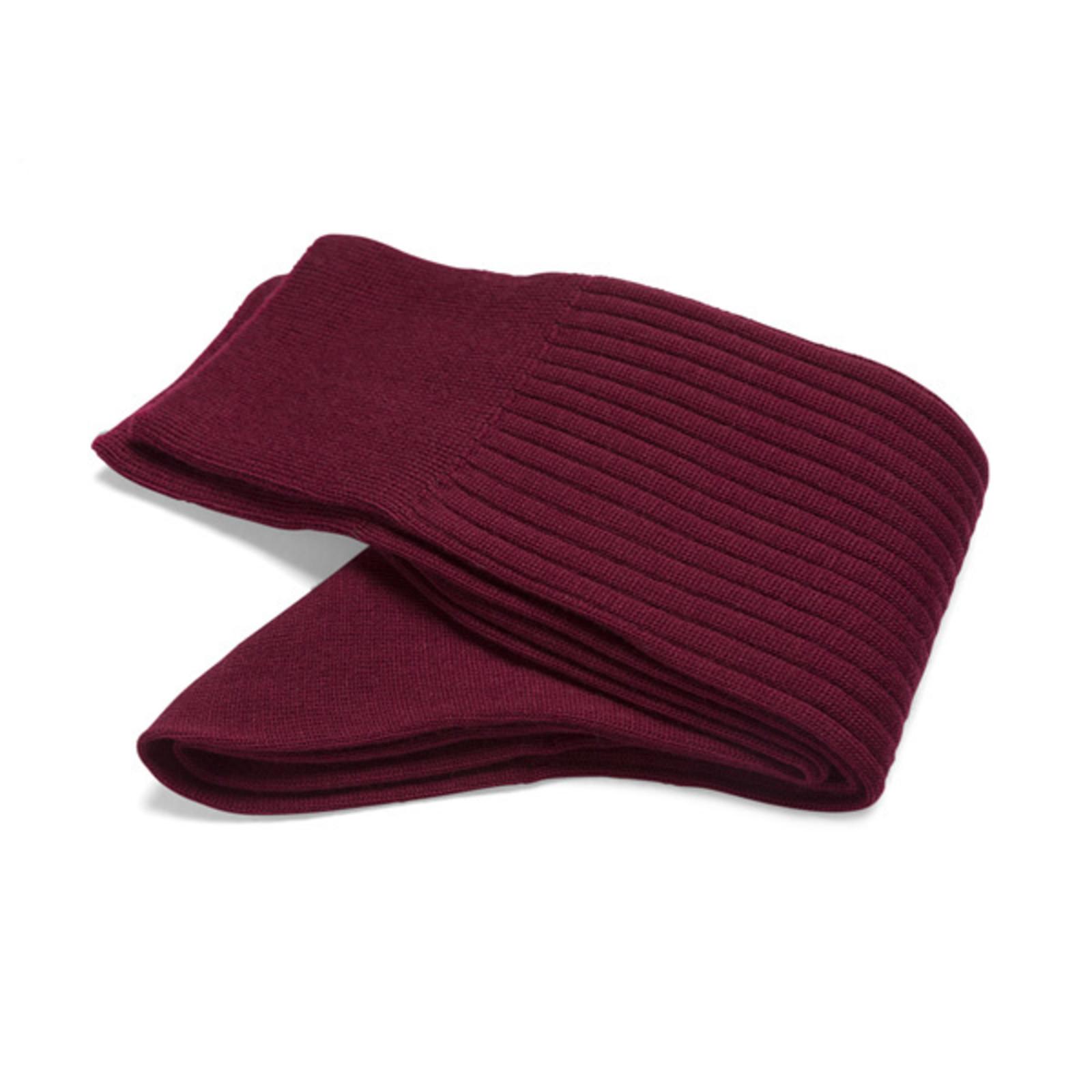 Carlo Lanza Red wool socks