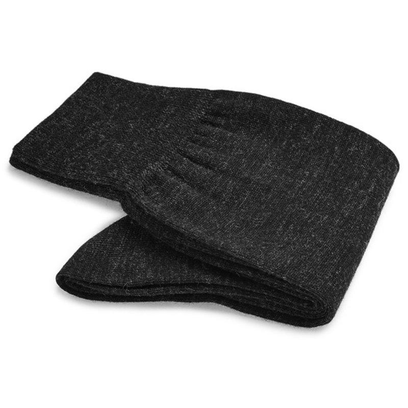 Dark grey wool socks