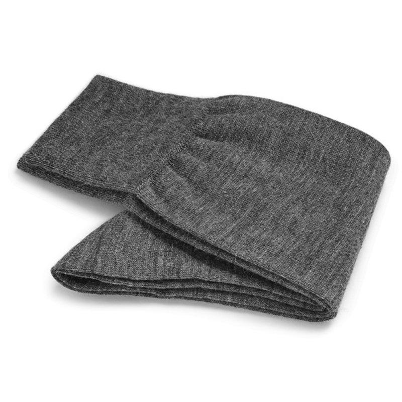 Light grey wool socks