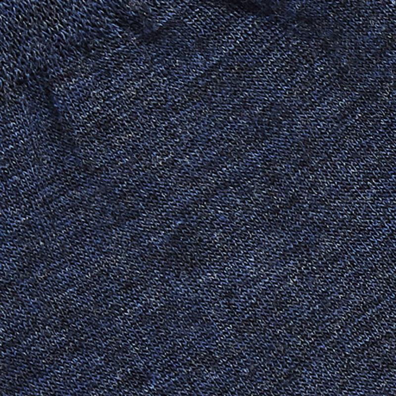 Blaue Merino Wolle Socken