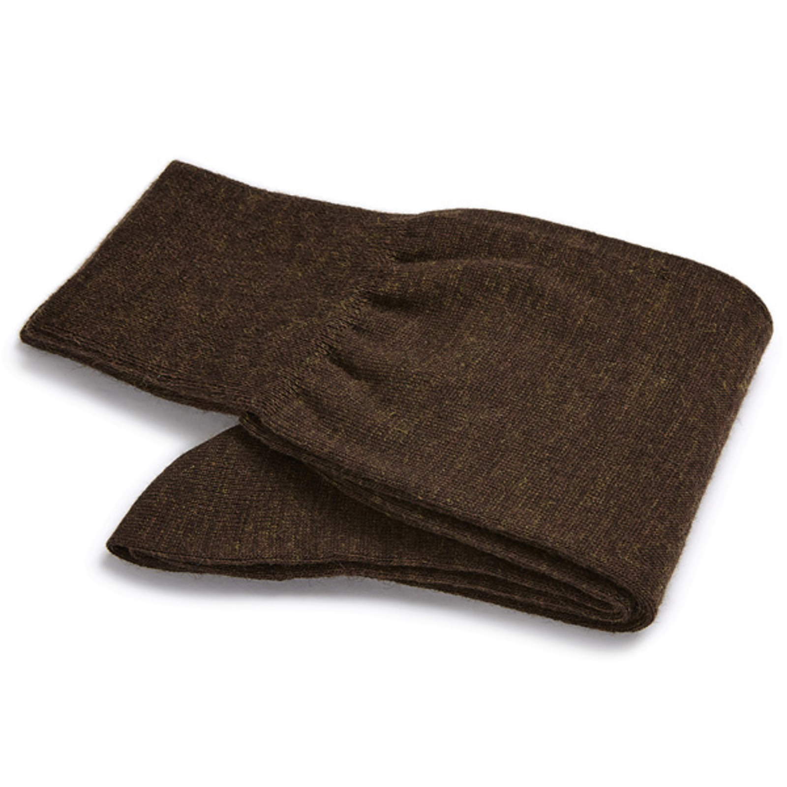 Carlo Lanza Braune Merino Wolle Socken
