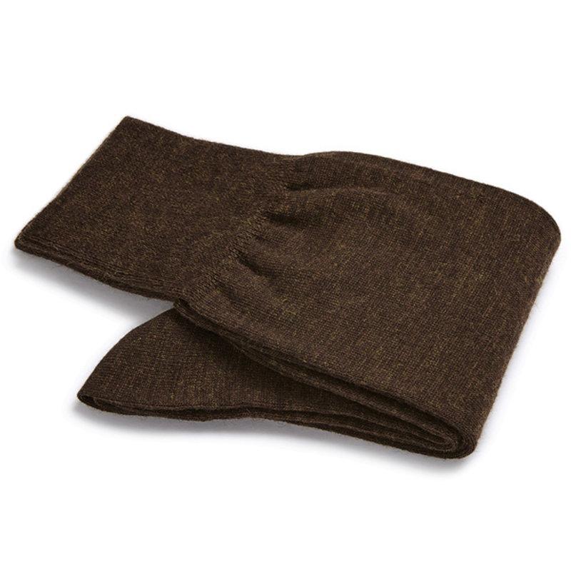 Brown wool socks