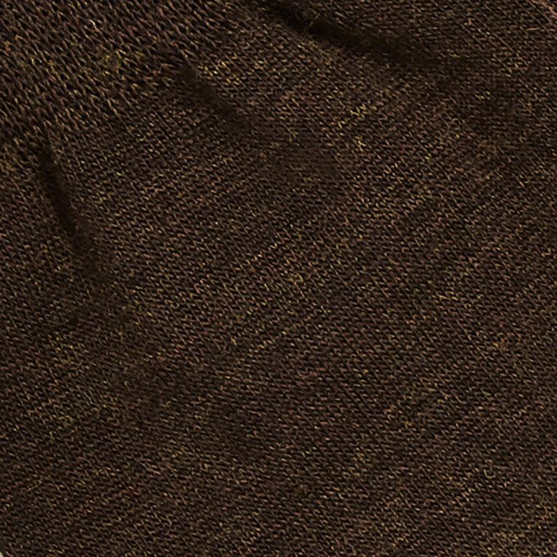 Braune Merino Wolle Socken