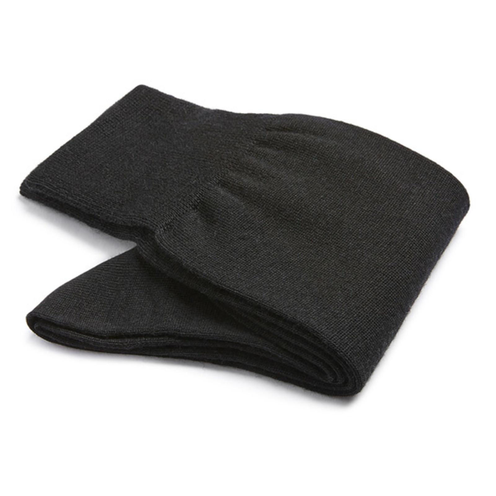 Carlo Lanza Black wool socks