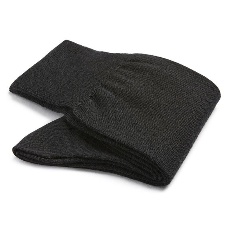Schwarze Merino Wolle Socken