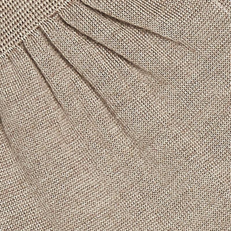 Beige kasjmier/zijde kousen | Carlo Lanza