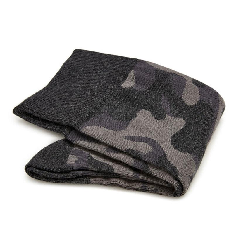 Camouflage katoenen sokken grijs | Carlo Lanza