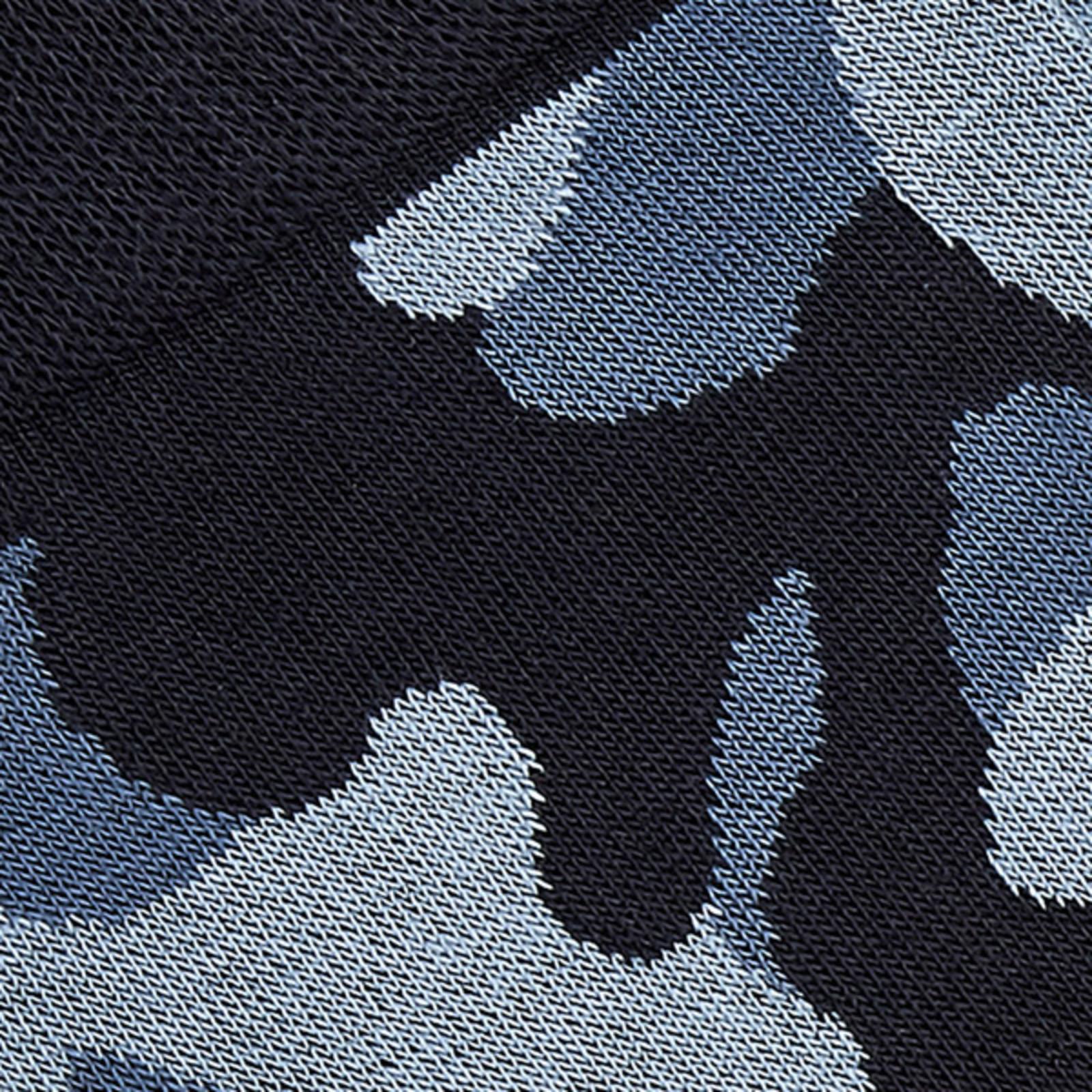 Carlo Lanza Blue camouflage socks