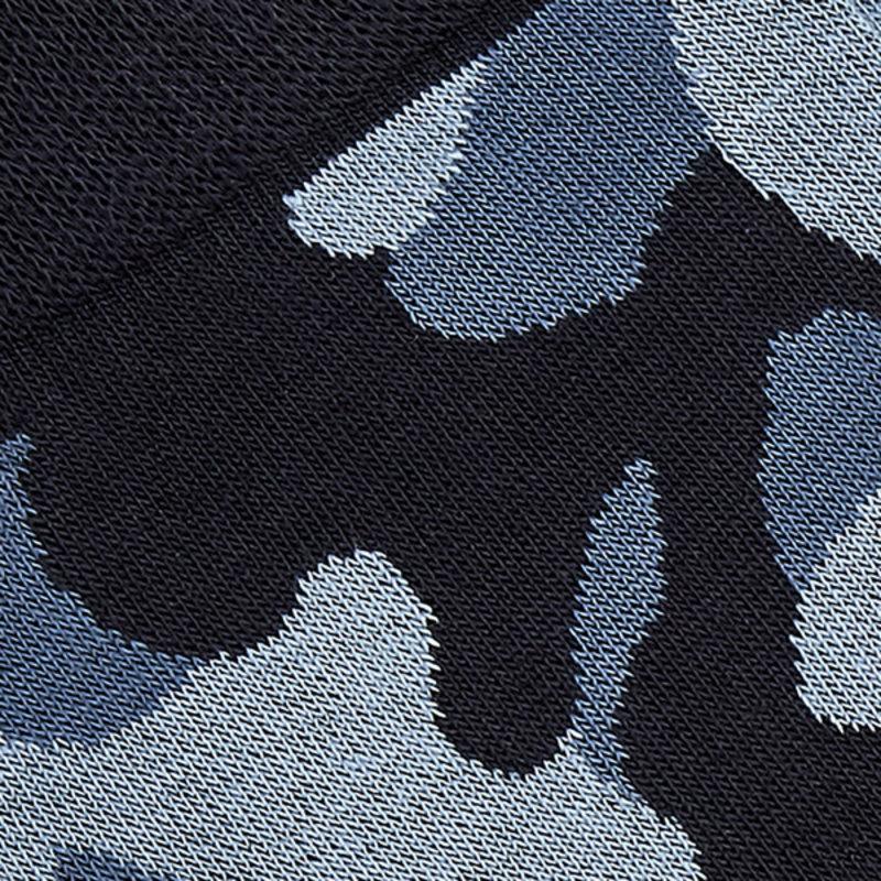 Blaue camouflage Socken