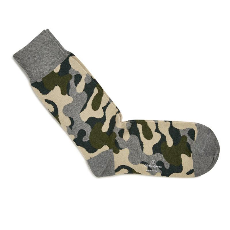 Grüne camouflage Socken
