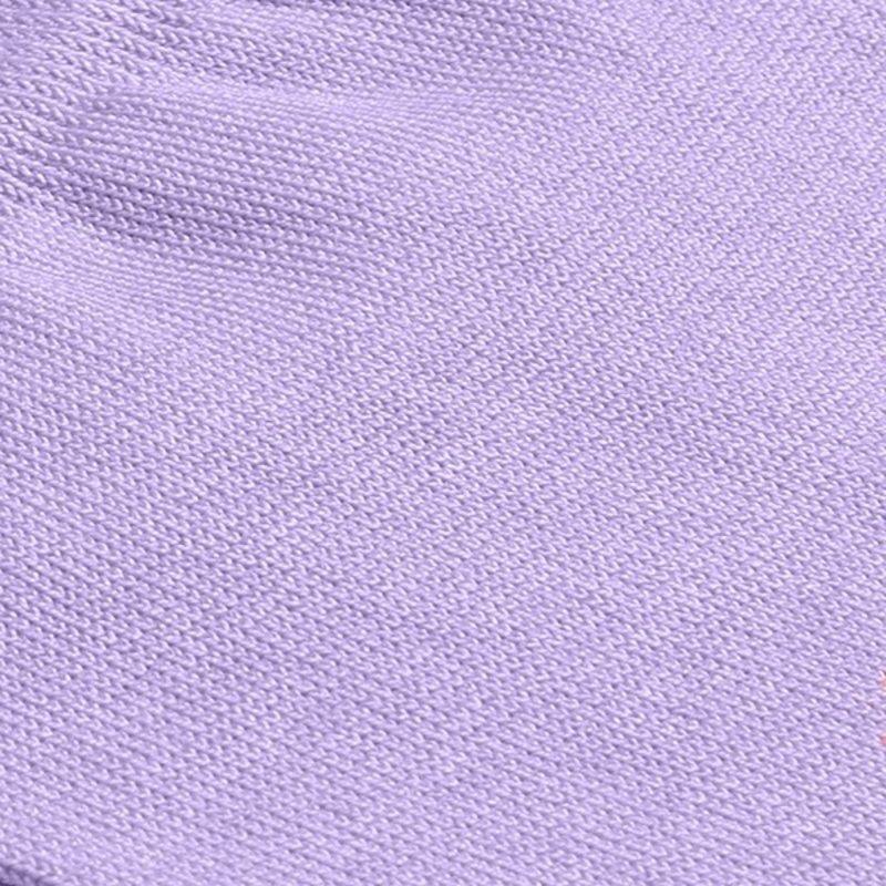 Violet cotton socks