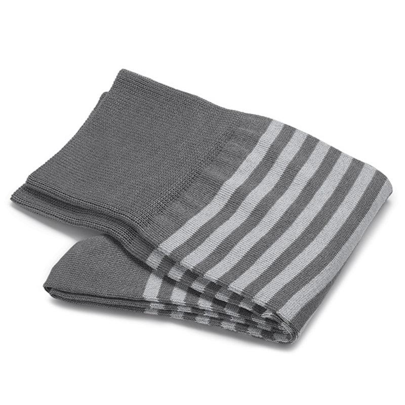 Grey stripe socks