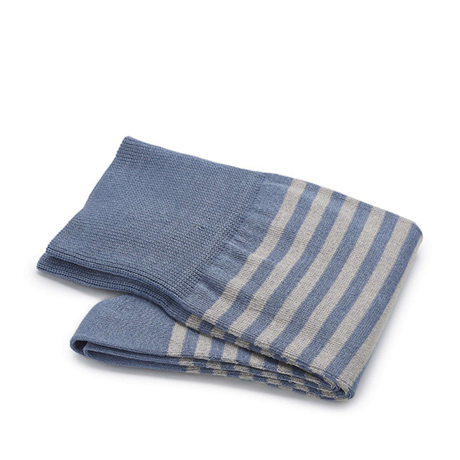 Carlo Lanza Blau/ graue gestreifte Socken