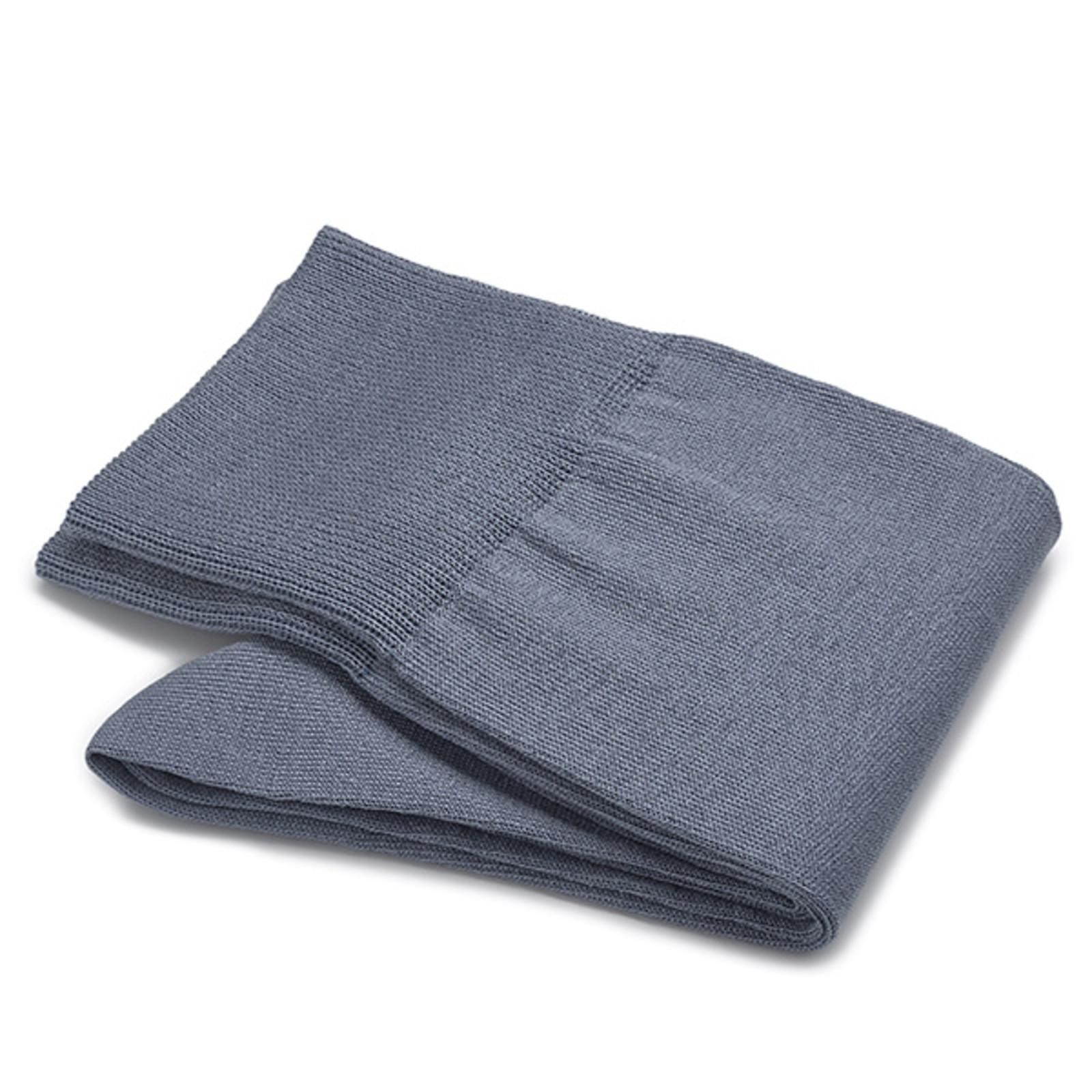 Carlo Lanza Blau/ graue Socken Baumwolle