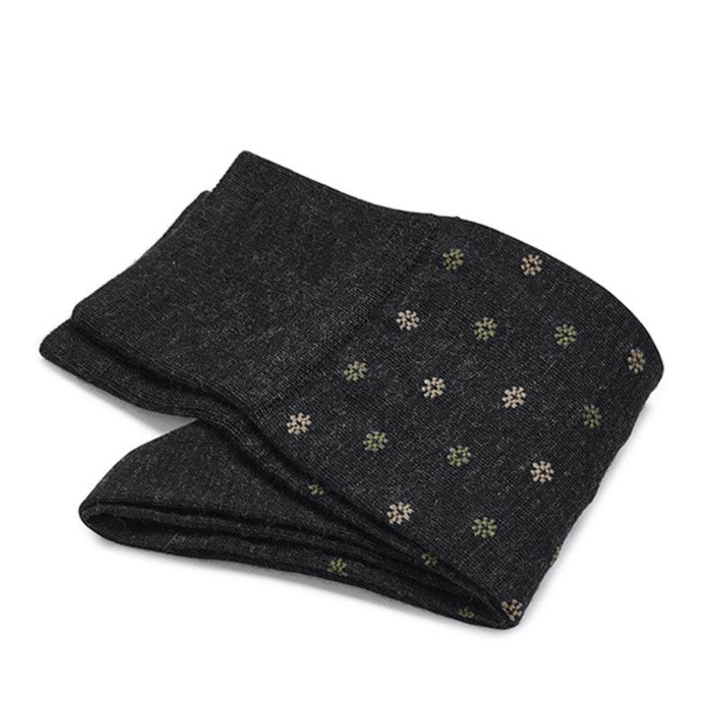 Anthracite flower socks