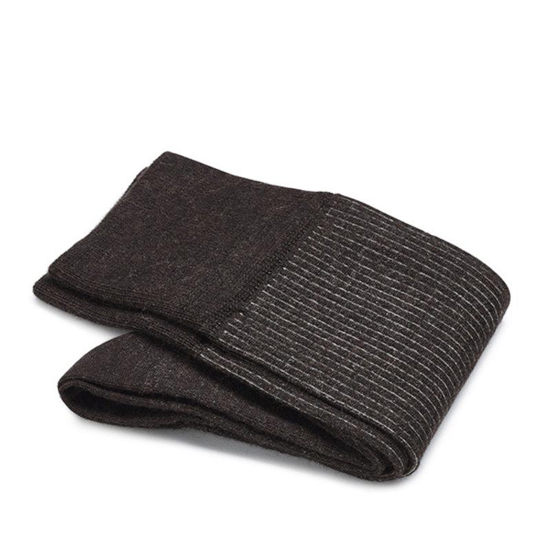 Braune Shadow Socken Merino Wolle