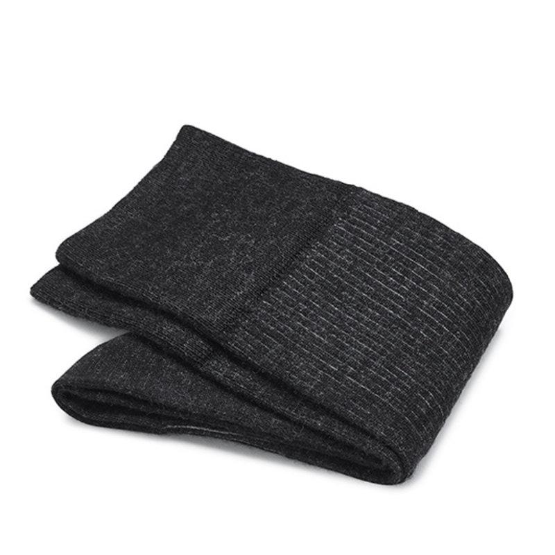 Anthrazit shadow Socken Merino Wolle