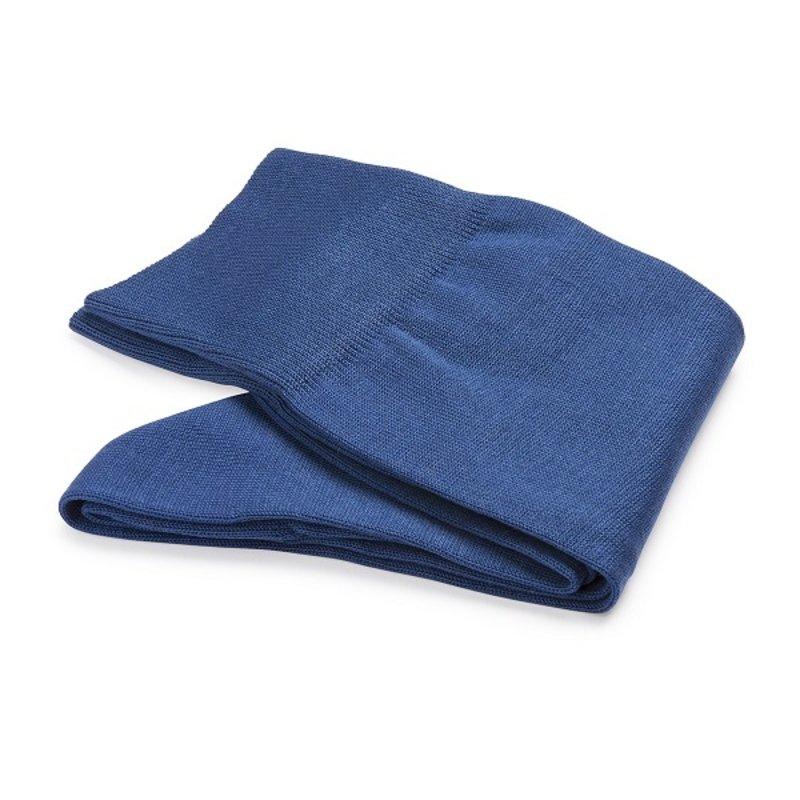Kobaltblaue Socken Baumwolle