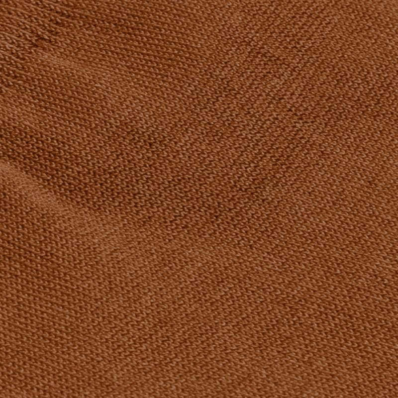 Cognac/camel katoenen sokken   Carlo Lanza