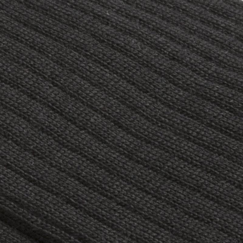 Black Knee-high socks wool