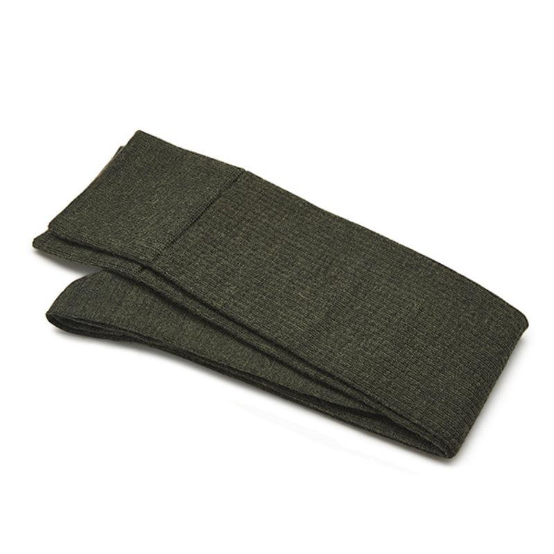 Green Knee-high shadow socks