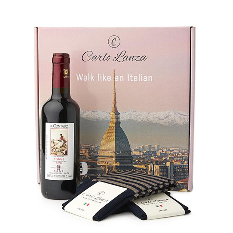 Giftpackage wine & socks
