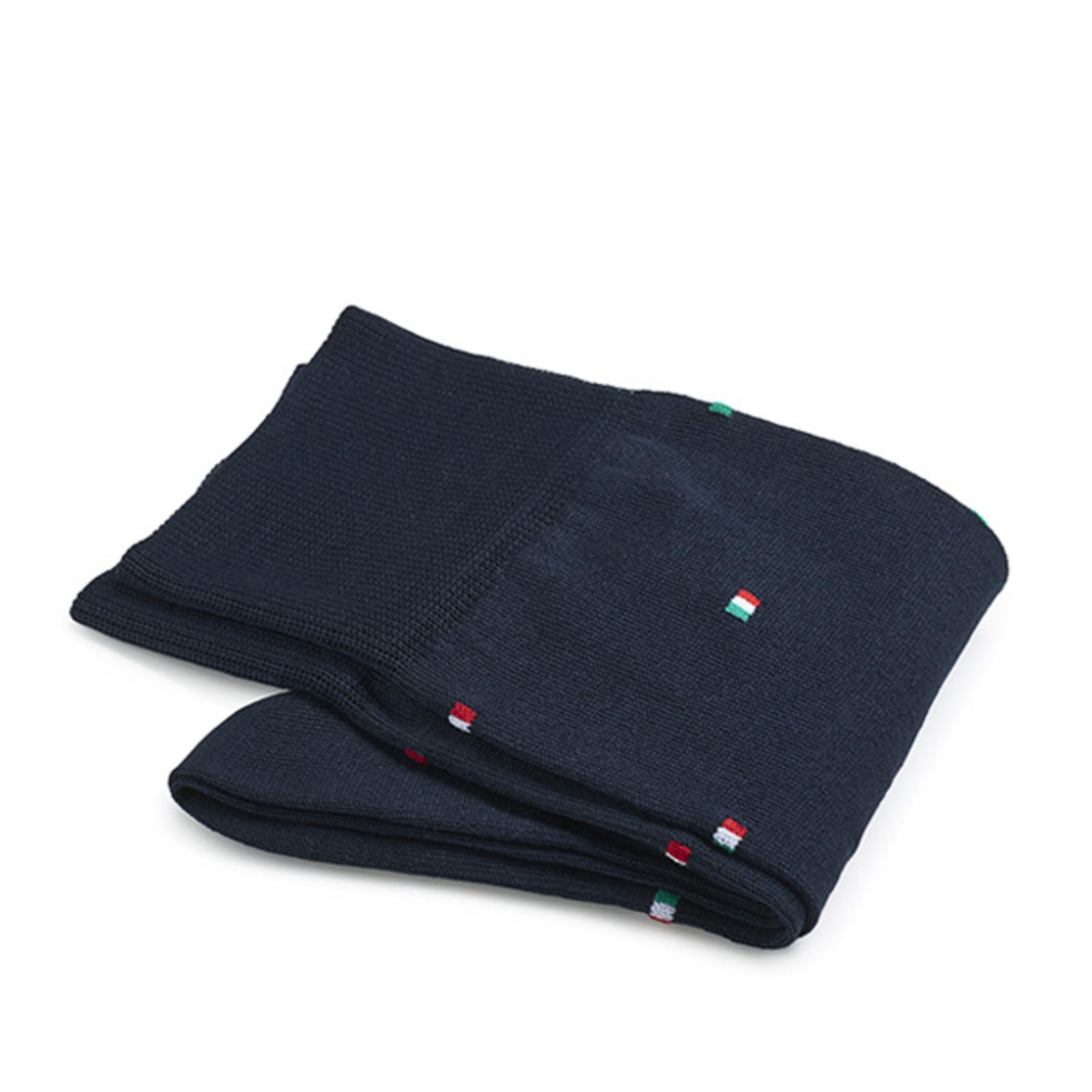 Carlo Lanza italienische Flagge Socken Baumwolle