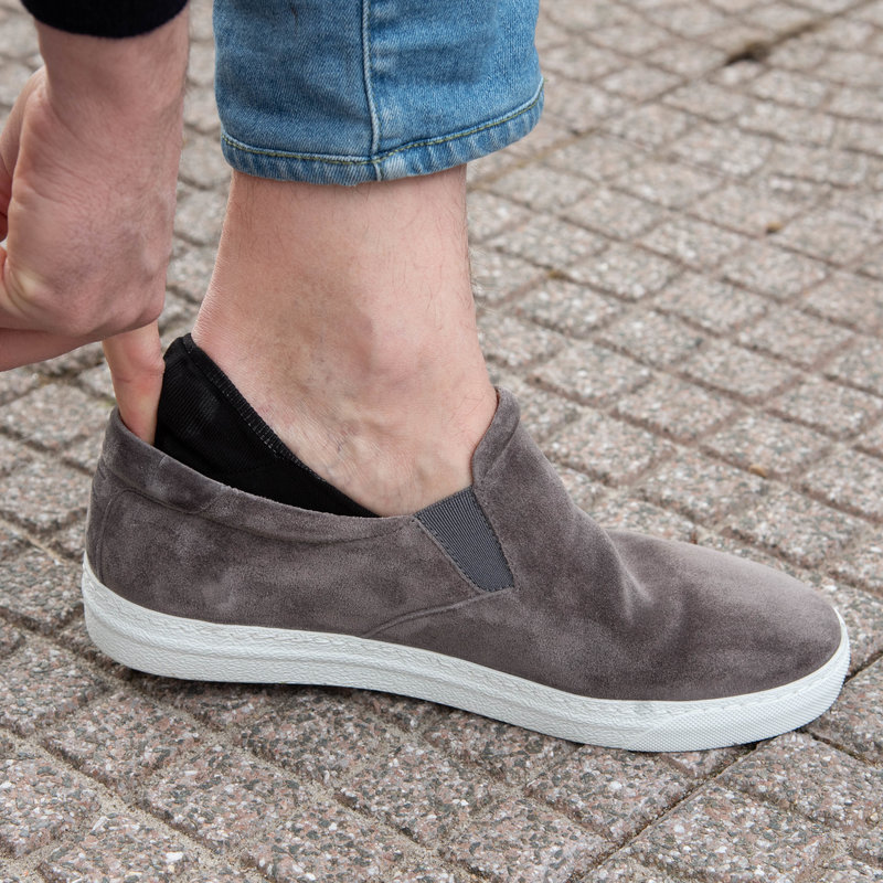 Donkerblauwe no show sokken | Carlo Lanza