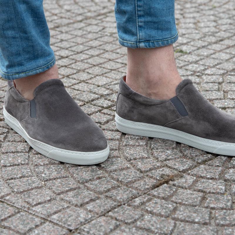 Weißen no show Socken