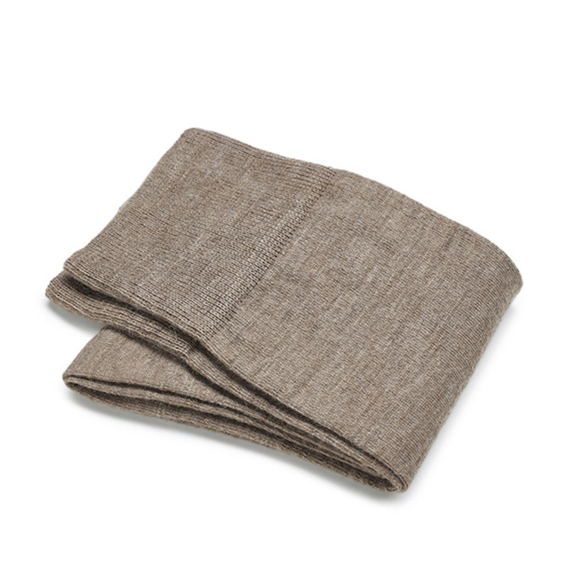 Kaki wool socks