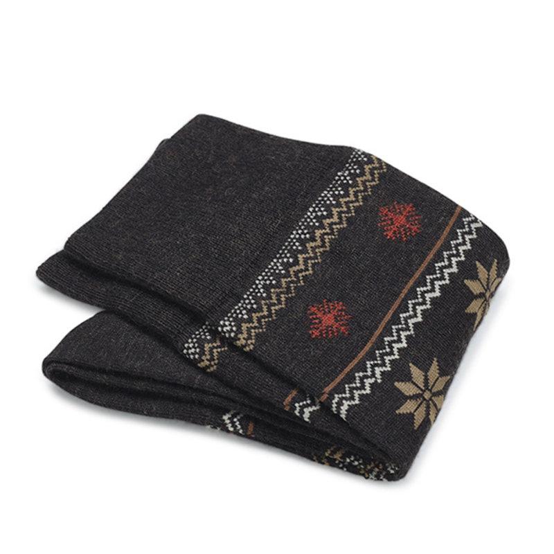 Brown winter socks   Carlo Lanza